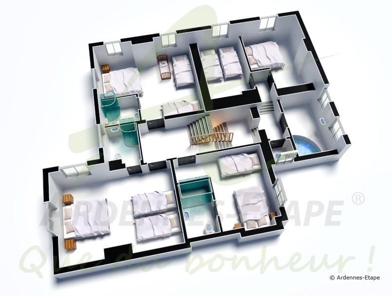 Beautiful Plan De Maison De Luxe Etage Photos - Lalawgroup.Us