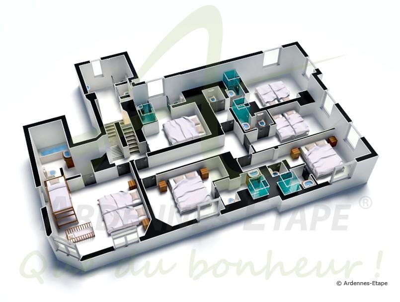luxusvilla mit schwimmbad und wellness f r 30 personen in stoumont. Black Bedroom Furniture Sets. Home Design Ideas