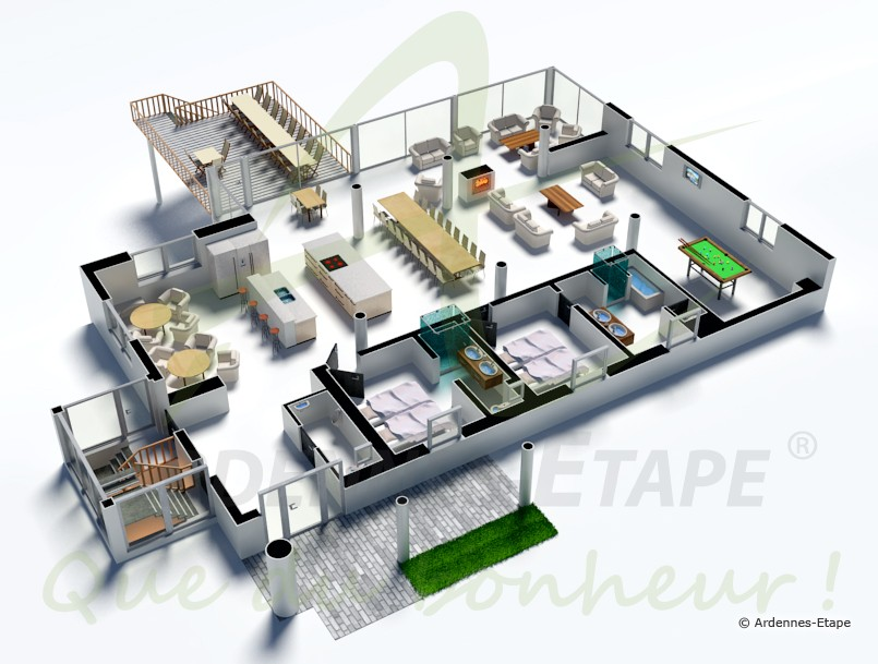 Plan De Villa De Luxe. Best Beautiful Plan Moderne De Villas ...