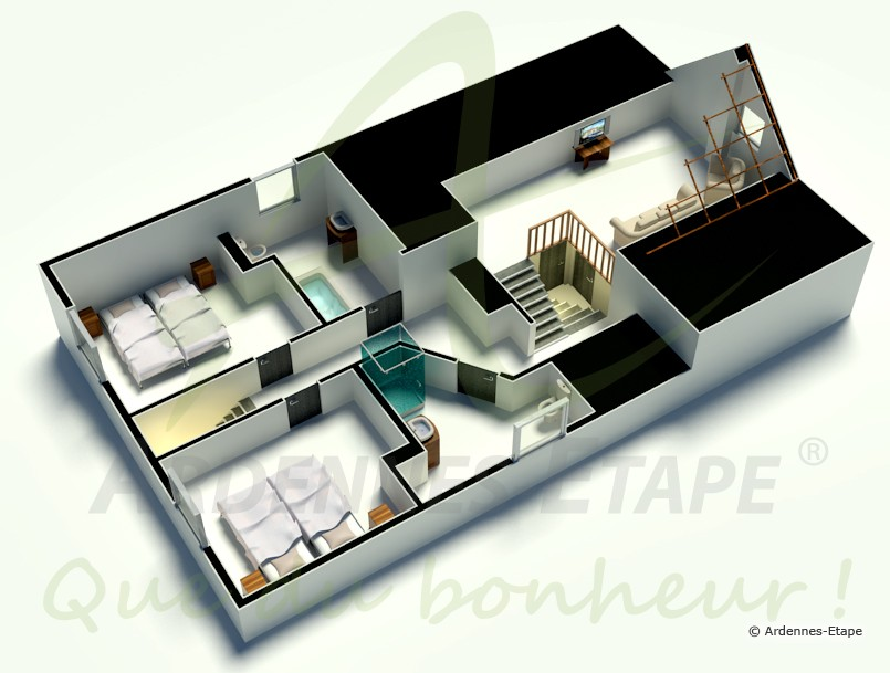 Modele maison etage interesting cheap get free high for Modele de maison de luxe