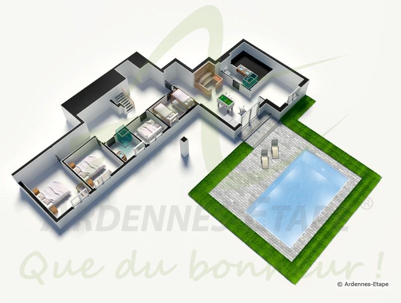 Luxueuse Villa Pour 12 Personnes Avec Piscine Exterieure A Aywaille