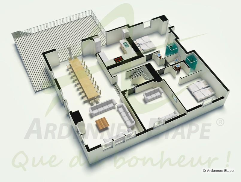 Plan De Villa De Luxe Wc86 Montrealeast