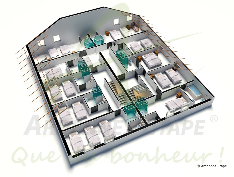 Beautiful Maison De Luxe Plan Photos - Sledbralorne.com ...