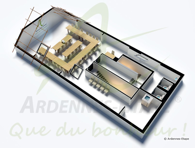 Barrierefreie Luxusvilla mit Schwimmbad für 48 Personen in Rochefort