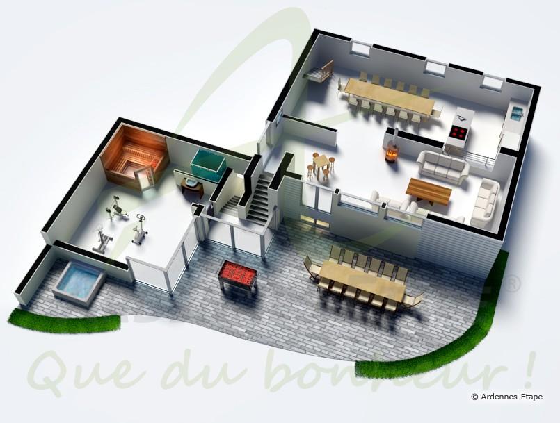 Wc Dans Salle De Bain Interdit : Organisation des pièces dans la ...