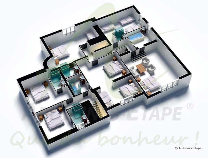 Plan De Maison De Luxe. Beautiful Plan De Maison Moderne D Frache ...