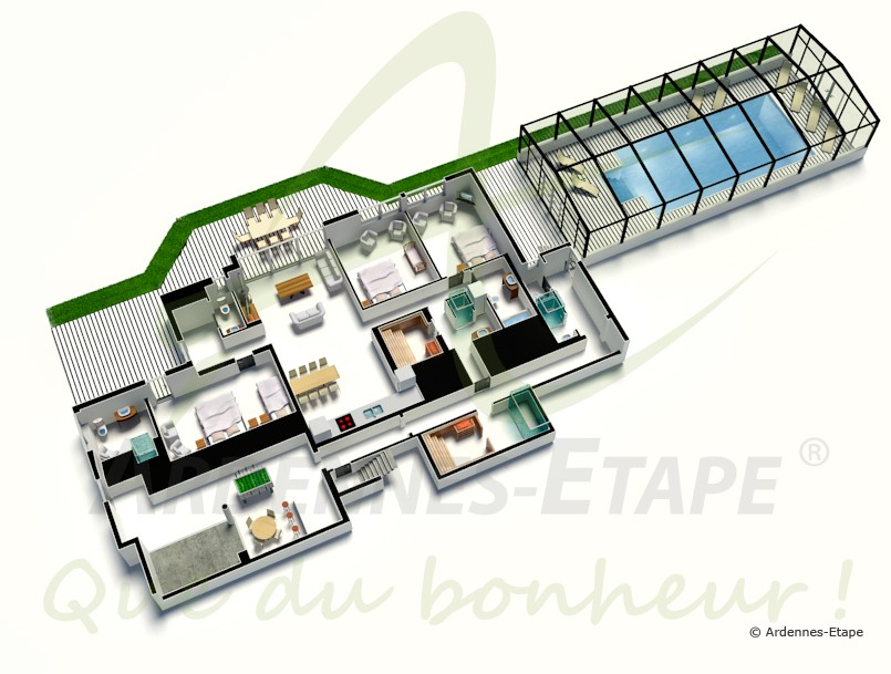 Maison De Luxe Plan. Excellent Uac With Maison De Luxe Plan. Des ...