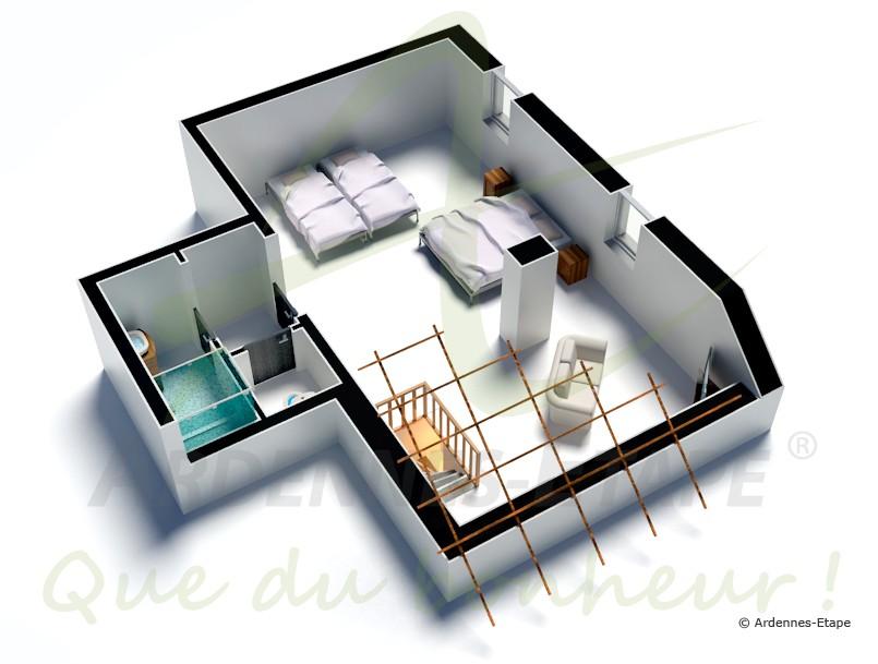 Maison de vacances avec piscine sauna et un billard pour for Maison de vacances linge de maison