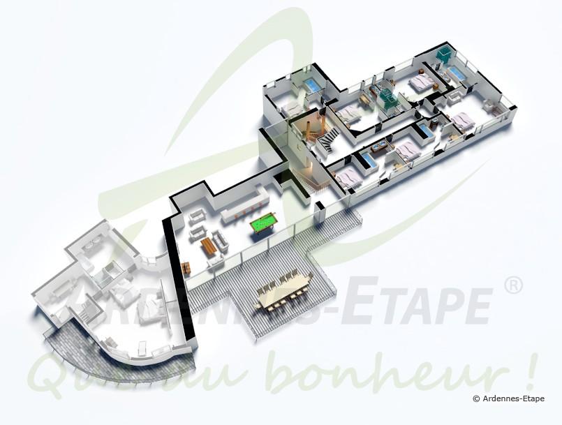Dimension Jacuzzi Salle De Bain : Villa de luxe avec piscine et wellness pour 27 pers. à Malmedy