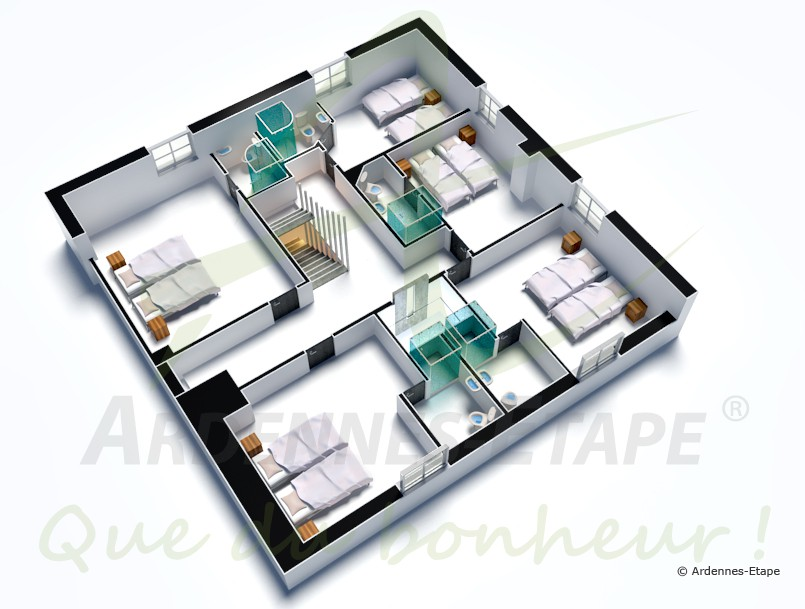 Plan De Maison 3 D. Homebyme With Plan De Maison 3 D. Awesome Plan ...