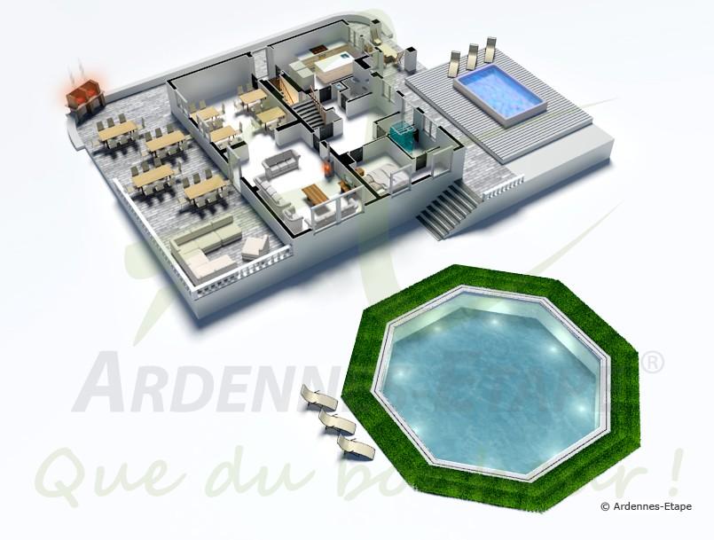 Grande villa de luxe avec piscine et jacuzzi dans le - Vacances hawaii villa de luxe ultime ...