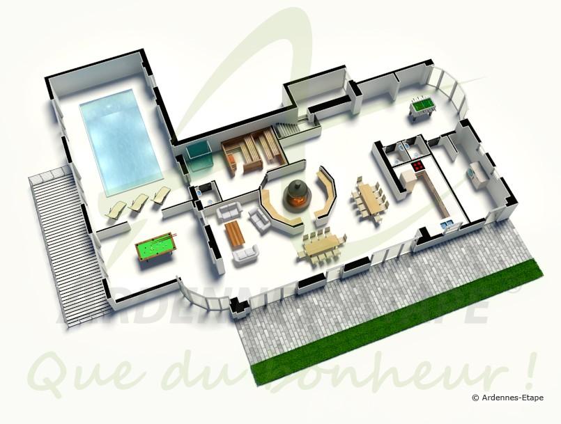 luxus komfort und gem tlichkeit in der region von aubel henri chapelle. Black Bedroom Furniture Sets. Home Design Ideas