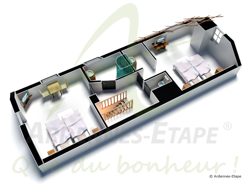 ferienvilla im landhausstil mit swimmingpool f r 14 personen in stoumont. Black Bedroom Furniture Sets. Home Design Ideas