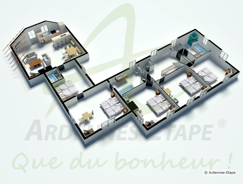 Plan De Maison Luxe 3d 509 Pictures to pin on Pinterest