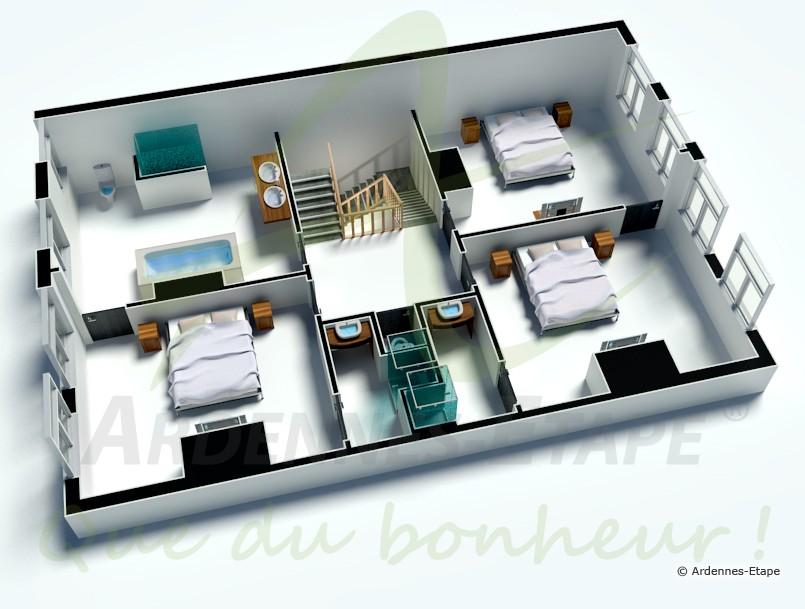 Villa de luxe 14 personnes au coeur de stavelot en for Maison de vacances linge de maison