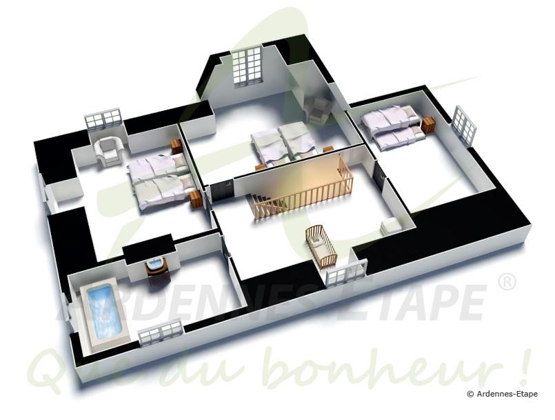 landschloss zur ferienvermietung an 9 personen in spa. Black Bedroom Furniture Sets. Home Design Ideas
