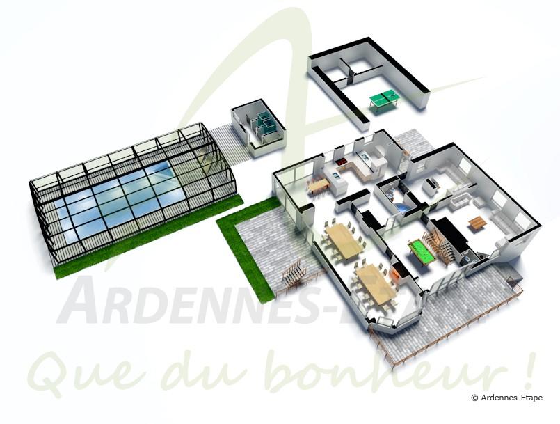 Villa De Luxe 4 233 Toiles 224 Vielsalm Pouvant Accueillir 21