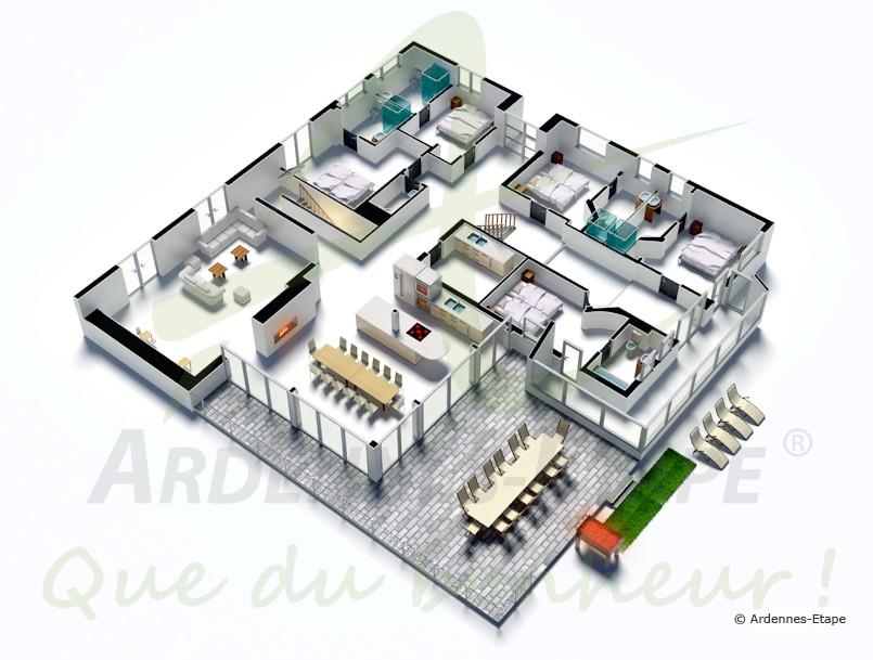 Stunning Maison De Luxe Plan Images  DoztopoUs  DoztopoUs